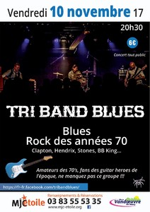 Concert Tri Band Blues